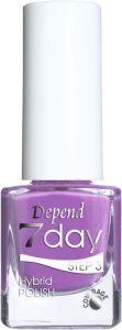 Depend 7 Day Hybrid Polish (5mL) 70073 Various Violet