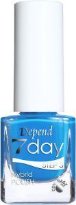 Depend 7 Day Hybrid Polish (5mL) 70075 Balmy Blue