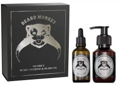 Beard Monkey Giftset  Beard 2020 Licorice