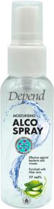Depend Moisturising Alco Spray 77vol% Effective Against Bacteria and Viruses (50mL)