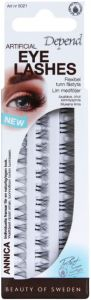 Depend Artificial Eye Lashes Annica + Glue