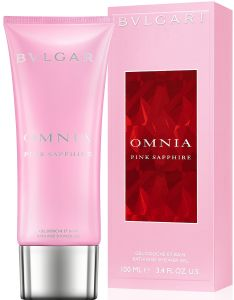 Bvlgari Omnia Pink Sapphire Shower Oil (100mL)