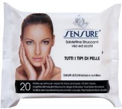 Sensure Make Up Remover Wet Wipes (20psc)