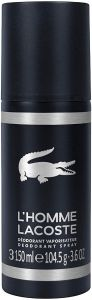 Lacoste L'Homme Deodorant Spray (150mL)