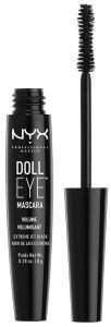 NYX Professional Makeup Doll Eye Volume Mascara (8g) Black