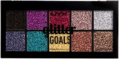 NYX Professional Makeup Glitter Goals Cream Pro Palette (12g)
