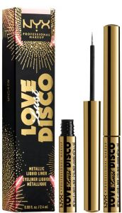 NYX Professional Makeup Love Lust Disco Metallic Liquid Liner (2,4mL)