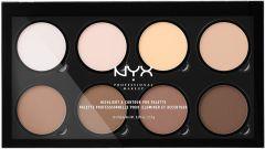 NYX Professional Makeup Highlight & Contour Pro Palette (16,2g)