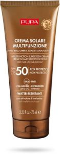 Pupa Multifunction Sunscreen Cream Body, Face, Lips, Hair and Scalp SPF 50 (75mL)