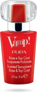Pupa Vamp! Base and Top Coat Red (9mL)
