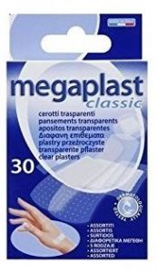 Megaplast Clear Plasters Assorted (30pcs)