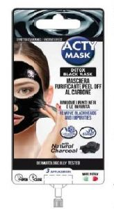 Skin Academy Acty Patch Purifying Mask Black Charcoal Peel Off