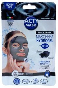 Acty Patch Acty Mask Hydrogel Black Mask