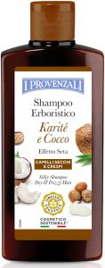 I Provenzali Shea Butter Silky Shampoo Shea and Coconut, Dry and Frizzy Hair (250mL)