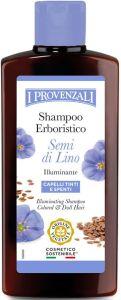 I Provenzali Flaxseed Oil Shampoo Colored & Dull Hair(250mL)