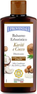 I Provenzali Shea Butter Silky Conditioner Shea and Coconut, Dry and Frizzy Hair (200mL)