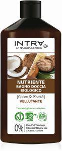 Intra Coconut & Shea Organic Nourishing Body Wash (400mL)