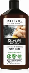 Intra Charcoal & Ginger Organic Detox Spa Body Wash (400mL)
