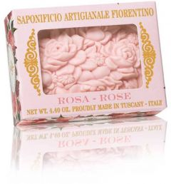 Fiorentino Soap Botticelli Rose (125g)