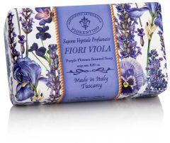 Fiorentino Soap Armonia Purple Flowers (250g)