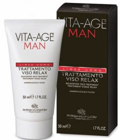 Bottega Di Lungavita Vita-Age Man Relaxing Face Treatment (50mL)