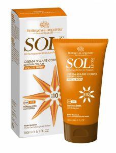 Bottega Di Lungavita Sol Suntan Cream Special Body SPF10 (150mL)