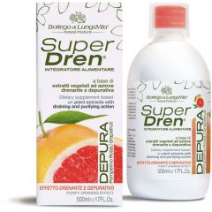 Bottega Di Lungavita Superdren Depura Grapefruit (500mL)