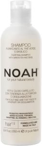 Noah Purifying Shampoo with Green Tea and Basil (250mL)