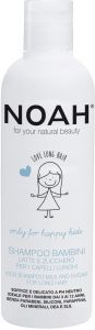 Noah Kids Shampoo Milk & Sugar for Long Hair (250mL)