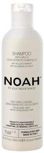 NOAH 2.6 Anti-Yellow Shampoo with Blueberry Extract (250mL)