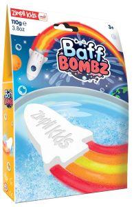 Zimpli Kids Rocket Baff Bombz with Flames Effect (110g)