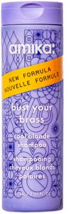 Amika Bust Your Brass Cool Blonde Repair Shampoo (60mL)