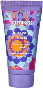 Amika Bust Your Brass Cool Blonde Mask (60mL)