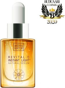 Aroms Natur Revital-c Instant Light Natural Serum (15mL)