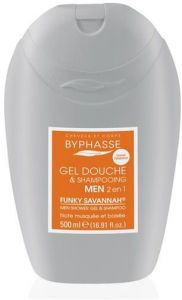 Byphasse Shower Gel-Shampoo Funky Savanna (500mL)