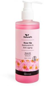 IDC Natural's Shower Gel Rose Hip (260mL)