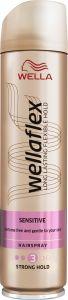 Wella Wellaflex Sensitive Strong Hold Hairspray (250mL)