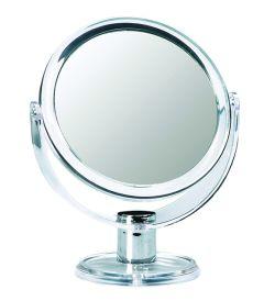 Casuelle Standing Mirror Round, Normal+3X Magnifying, Ø10,5cm, Height 17,5cm