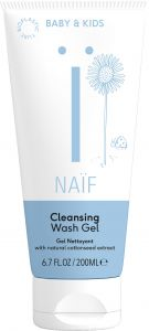 Naïf Cleansing Wash Gel with Natural Cottonseed Extract (200mL)