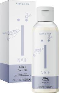Naïf Milky Bath Oil (100mL)