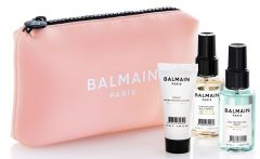 Balmain Limited Edition Cosmetic Bag SS20 Pink