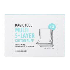 Holika Holika Magic Tool Multi (5-Layer) Cotton Puff 80 pcs