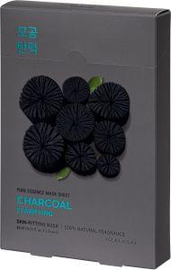 Holika Holika Pure Essence Mask Sheet - Charcoal (5x23mL)