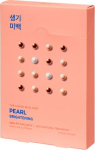 Holika Holika Pure Essence Mask Sheet - Pearl (5x23mL)