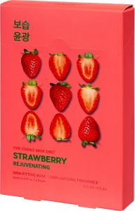 Holika Holika Pure Essence Mask Sheet - Strawberry (5x23mL)