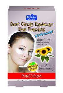 Purederm Dark Circle Reducer Eye PatchesSun Flower Seed Oil