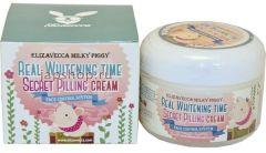 Elizavecca Milky Piggy Real Whitening Time Secret Pilling Cream (100g)