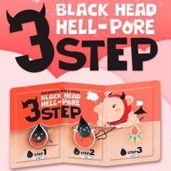 Elizavecca Milky Piggy Black Head Solution Clean Mask 3-Step