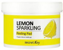 Secret Key Lemon Sparkling Peeling Pad (70pcs)