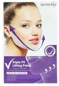 Secret Key Triple Fit Face Lifting Patch (1pcs)